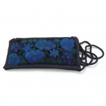 embroidered eyeglasses case