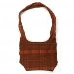 embroidered hobo bag brown-multi back