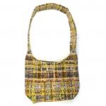 embroidered hobo bag gold back