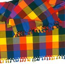 vibrant tablecloth