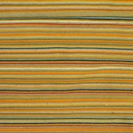 striped natural dye throw rug detail